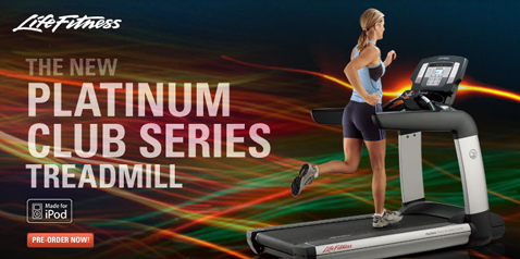 Treadmill by Life fitness